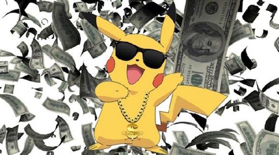 pokemon go inkomsten