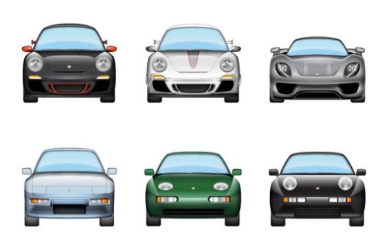 Porsche emoji in ios 10