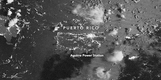 puerto rico stroomuitval nasa