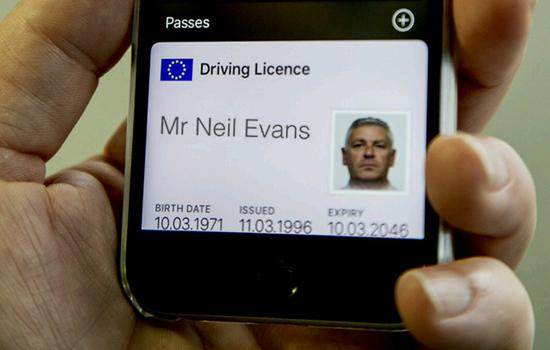 Gaat de iPhone je rijbewijs vervangen?