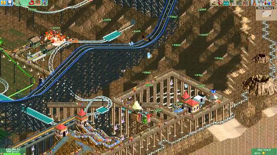 Rollercoaster Tycoon 2 komt naar smartphones