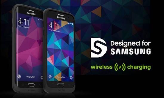 Batterijcase voor Galaxy S7 met draadloze laadtechniek