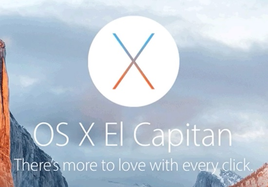 Apple met rode oortjes door OS X El Capitan slogan
