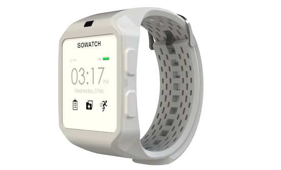 sowatch gezondheid smartwatch