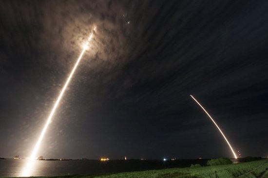 SpaceX-raket landt opnieuw succesvol