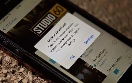 How-to: overleven met een 16 GB iPhone