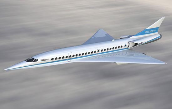 supersonisch vliegen met de  XB-1