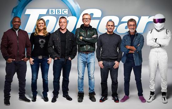 Het nieuwe team van Top Gear