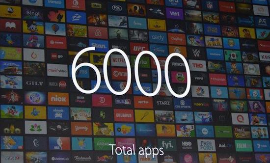 6000 tv apps