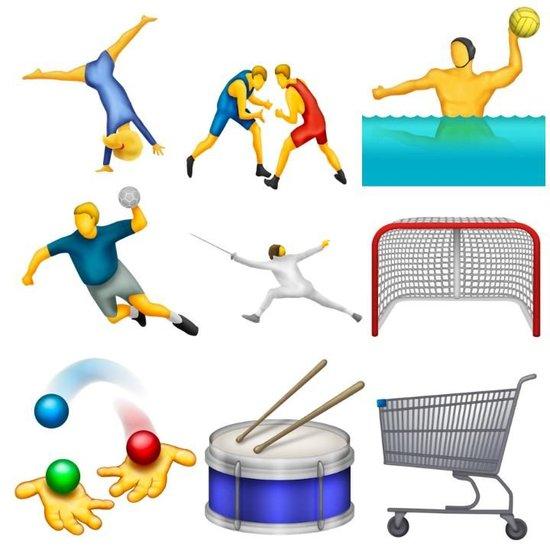 Unicode emoji 8