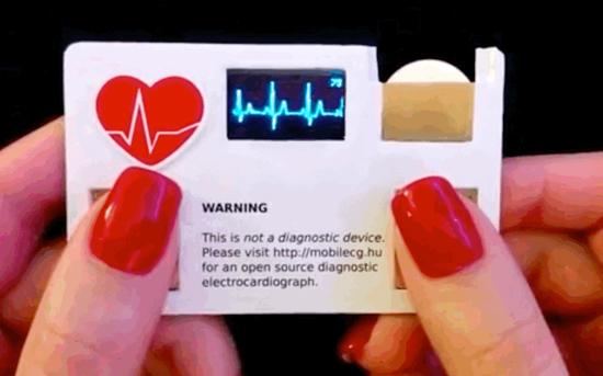 Dit visitekaartje meet je hartslag