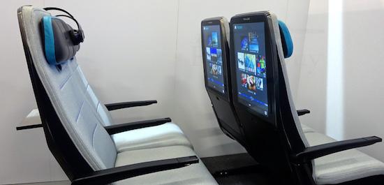 Heeft de vliegtuigstoel van de toekomst een 21
