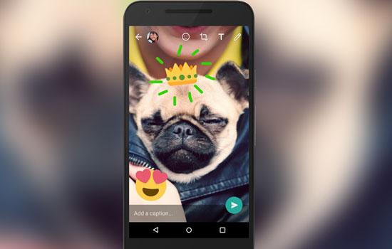 Whatsapp krijgt stickers en emoji