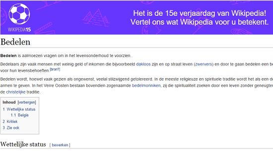 Wiki Bedelen
