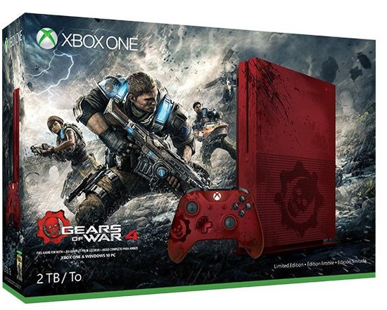 Xbox One S Gears of War
