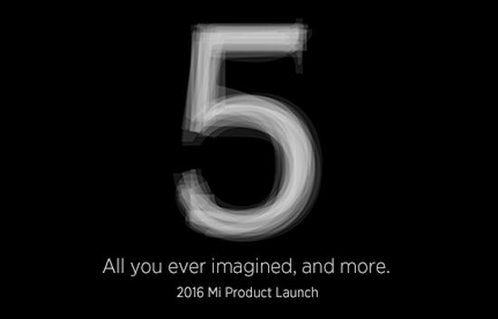 Aankondiging Xiaomi Mi5