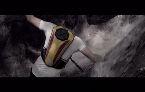 Voortaan geen doorweekte rugzak tijdens het lopen in grotten