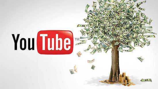 YouTube money!