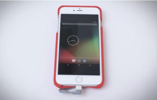 Een echt androidhoesje voor je iPhone