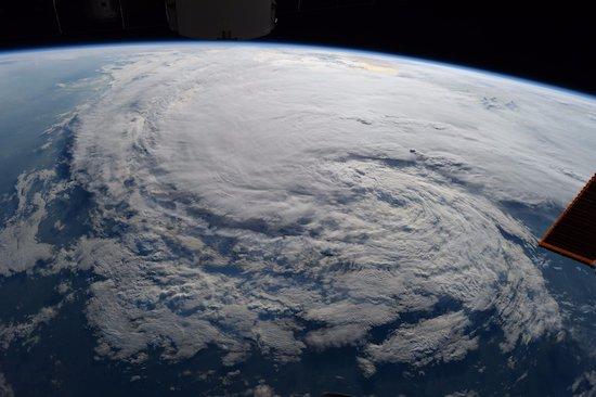 Orkaan Harvey vanuit het ISS