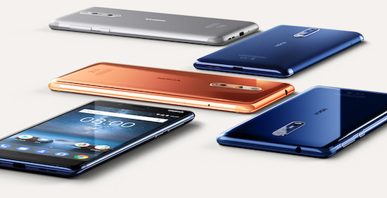 Nokia 8 krijgt Android Oreo