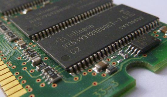 RAM van een PC