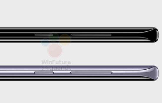 Dikte van de Galaxy S8 telefoons