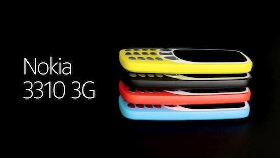 Nokia 3310 krijgt 3G
