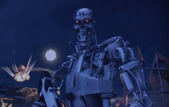 Terminator 2 GTA V style