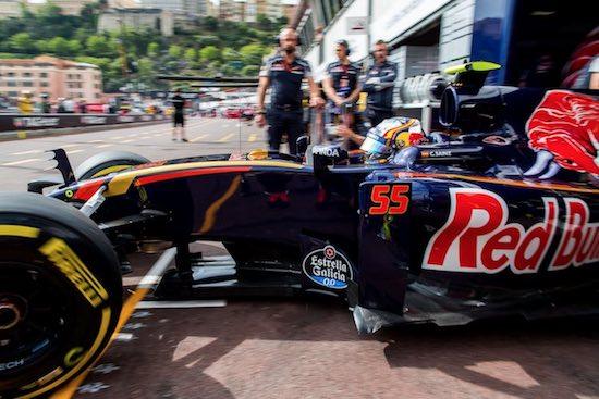 Carlos Sainz F1 2016