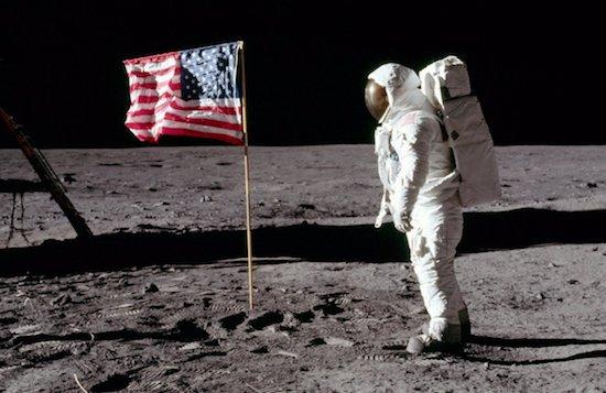 De maanlanding van Apollo 11