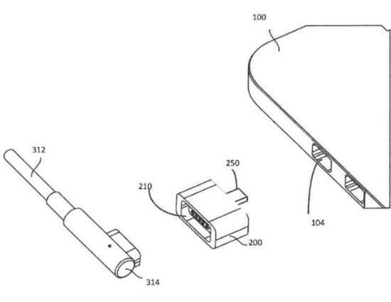 Apple MagSafe patent