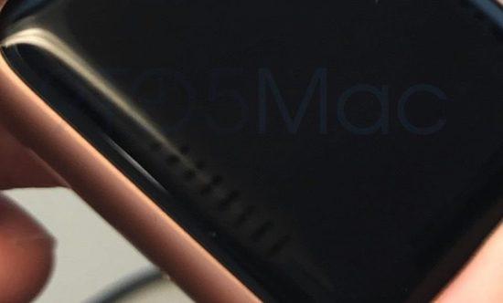 Strepen op het scherm van de Apple Watch