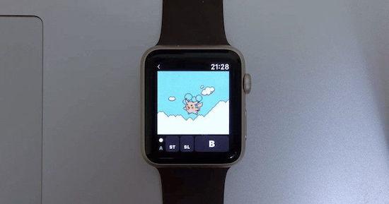 Ook deze Pokémon game kun je spelen op de Apple Watch