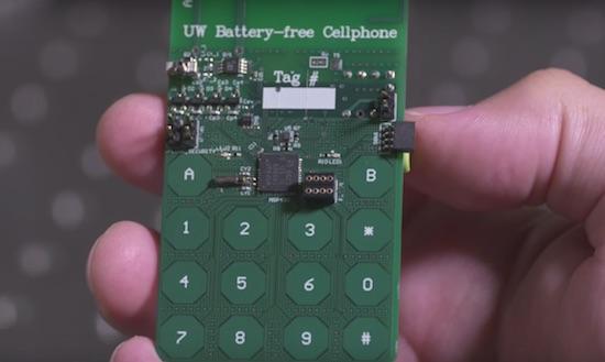 Deze mobiele telefoon heeft geen batterij nodig [video]