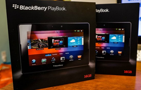 De geflopte BlackBerry Playbook
