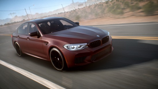 BMW M5 NFS Payback
