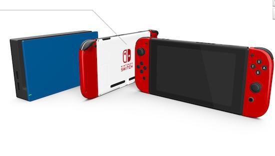 Voorzie je Nintendo Switch van een andere kleur