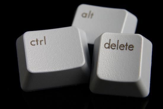 Bill Gates over Ctrl-Alt-Delete