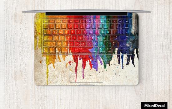 Heb je soms verf over je MacBook gegooid?