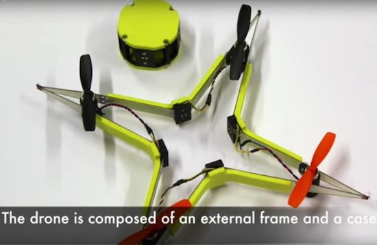 Video: drone is bestand tegen de grootste brokkenpiloten