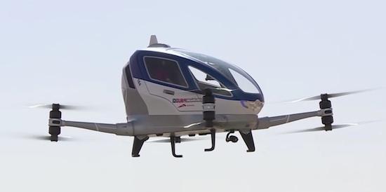 Dubai: stap aan boord van een drone en laat je rondvliegen