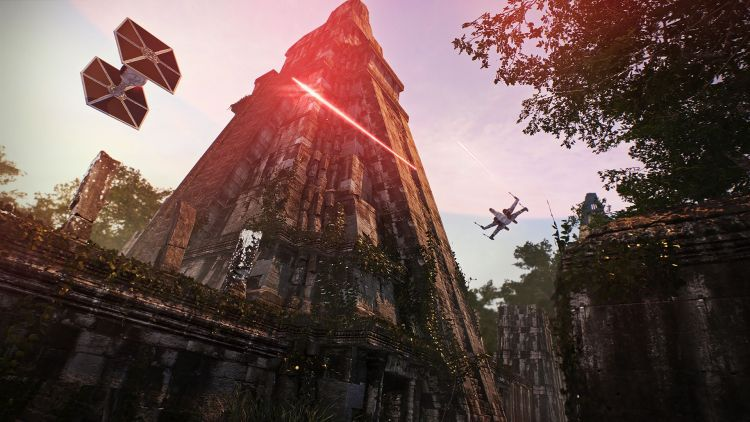 EA heeft meer problemen dan de bovenstaande TIE-Fighter, en die gaat bijna ontploffen