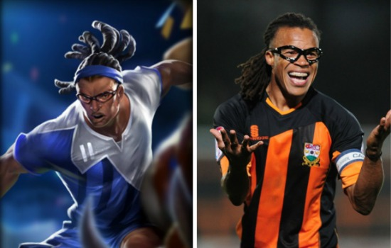 League of Legends Edgar Davids