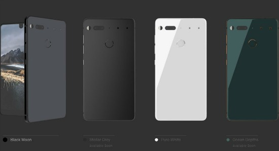 Essential Phone versies