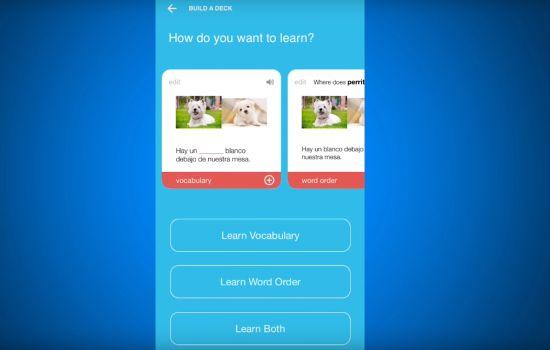 Sprichst du schon ein bisschen Deutsch oder brauchst du ein app wie Fluent Forever?