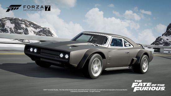 Speel Forza 7 met auto