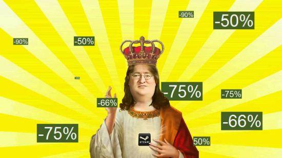 Tijdens de Steam Summer Sale wordt Gaben een missiah