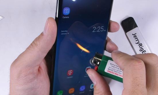 Galaxy Note 8 marteltest