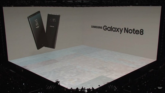 Galaxy Note 8 Unpacked evenement